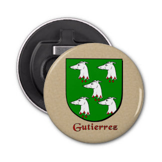 Gutierrez Historical Arms Shield Bottle Opener