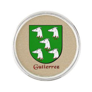 Gutierrez Historical Shield Pin