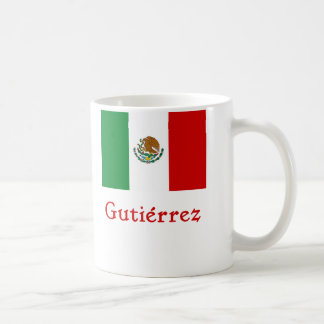 Gutiérrez Mexican Flag Mug