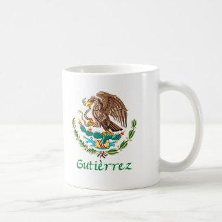 Gutierrez Mexican National Seal Coffee Mug