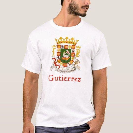 Gutierrez Shield of Puerto Rico T-Shirt