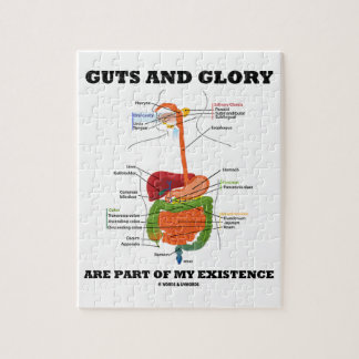 Guts And Glory Are Part Of My Existence Jigsaw Puzzle