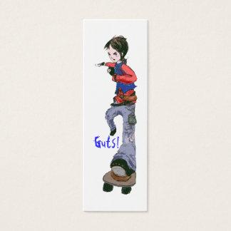 Guts Bookmark! Mini Business Card