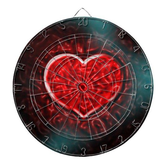 Gutsy Valentine Dartboard With Darts