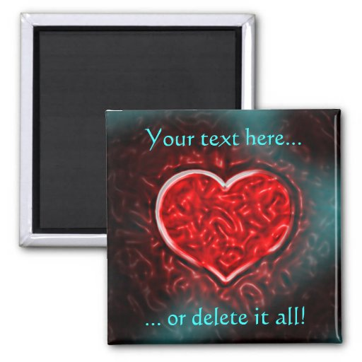 Gutsy Valentine Magnet