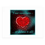 Gutsy Valentine Postcard
