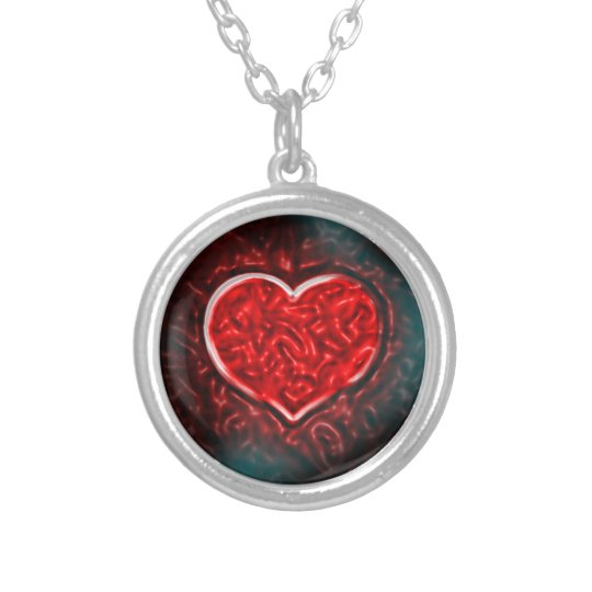 Gutsy Valentine Silver Plated Necklace
