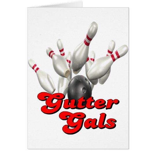 Gutter Gals Bowling Card