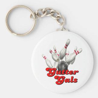 Gutter Gals Bowling Keychain