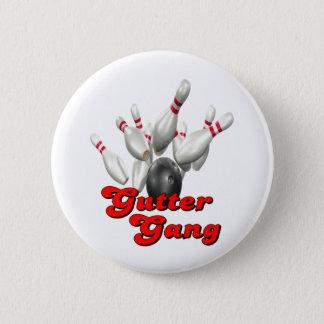 Gutter Gang Bowling Button