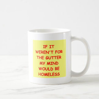 GUTTER.png Classic White Coffee Mug