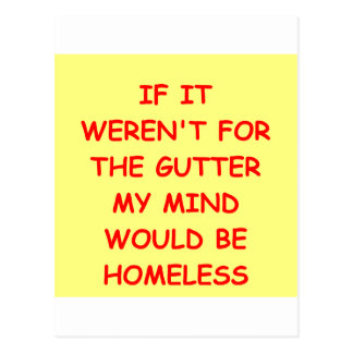 GUTTER.png Postcard