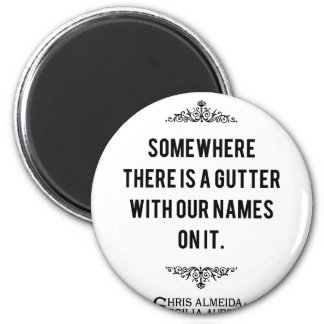 Gutter Quote 2 Inch Round Magnet