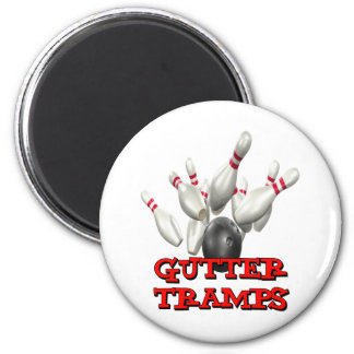 Gutter Tramps 2 Inch Round Magnet