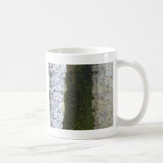 Gutter Trash -- Slime with concrete gutter. Classic White Coffee Mug