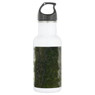 Gutter Trash -- Slime with concrete gutter. Stainless Steel Water Bottle