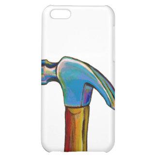 Guy art handyman home repair hammer tool cover for iPhone 5C