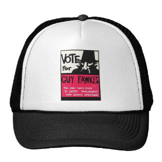 Guy Fawkes campaign Trucker Hat