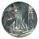Guy Fawkes, from 'Peeps into the Past', published Melamine Plate