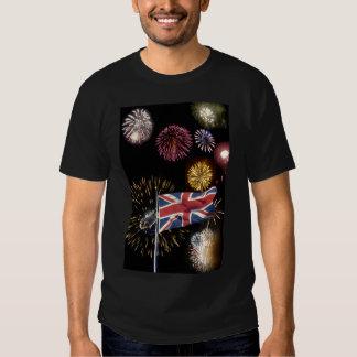 Guy Fawkes night fireworks shirt