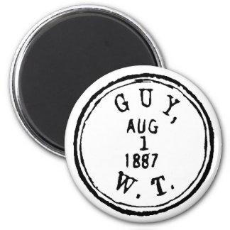 Guy Ghostmark Fridge Magnets