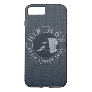 GUY IN HOODIE RAPPING ON THE MIC iPhone 7 PLUS CASE