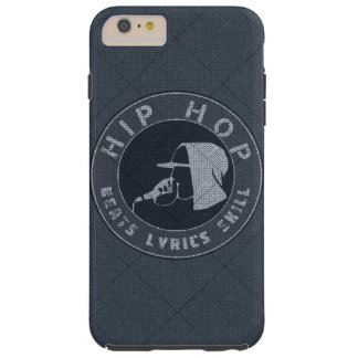 GUY IN HOODIE RAPPING ON THE MIC TOUGH iPhone 6 PLUS CASE