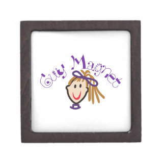 Guy Magnet Keepsake Box