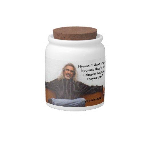 Guy Penrod's Place Candy Jar