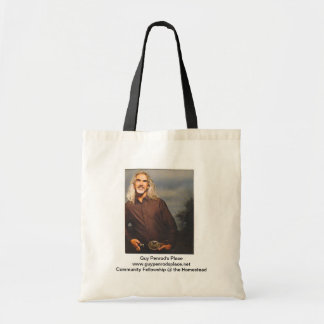 Guy Penrod's Place Tote Bag (black handle)