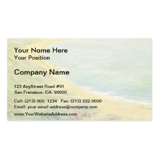 Guy Rose- Bluff at Pourville Business Card Template