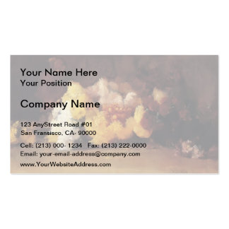 Guy Rose- Chrysanthemums Business Card Template