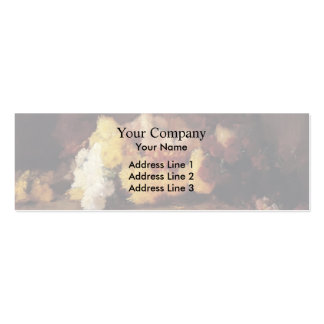 Guy Rose- Chrysanthemums Business Cards