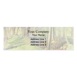 Guy Rose- Giverny Willows Business Card