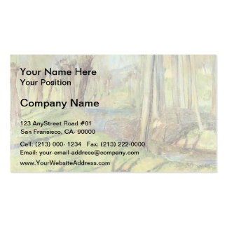 Guy Rose- Giverny Willows Business Card Templates