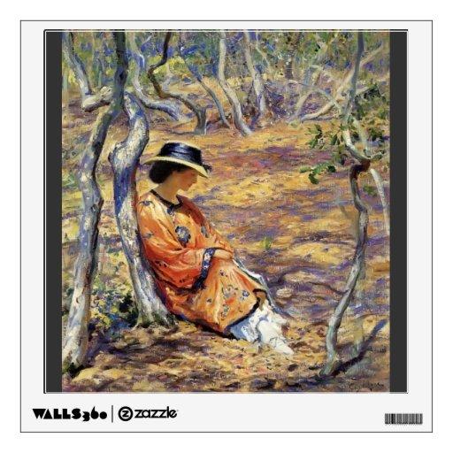 Guy Rose- In the Oak Grove Wall Skin