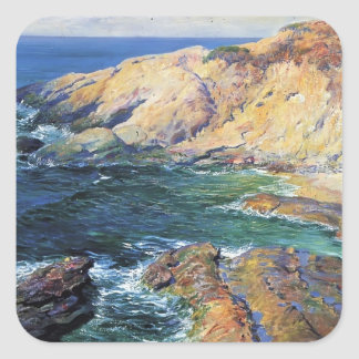 Guy Rose- Incoming Tide Square Sticker
