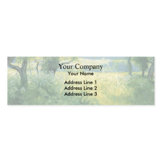 Guy Rose- July Afternoon Business Card Templates