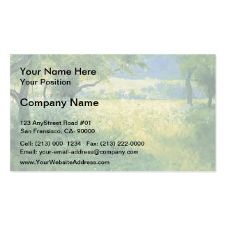 Guy Rose- July Afternoon Business Cards
