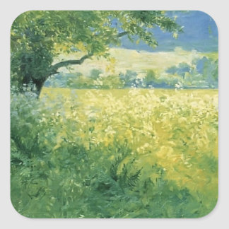 Guy Rose- July Afternoon Square Sticker
