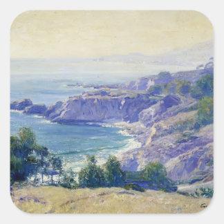 Guy Rose- Laguna Coast Square Sticker