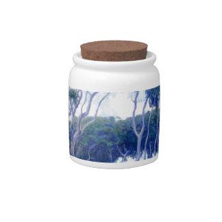 Guy Rose - Laguna Eucalyptus - Art Masterpiece Candy Jars
