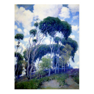 Guy Rose - Laguna Eucalyptus - Art Masterpiece Postcard