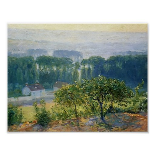 Guy Rose- Late Afternoon Giverny Print