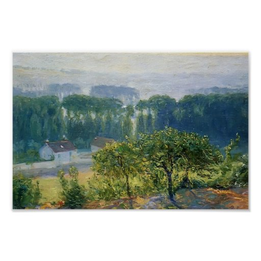 Guy Rose- Late Afternoon Giverny Poster