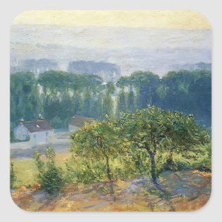 Guy Rose- Late Afternoon Giverny Square Sticker