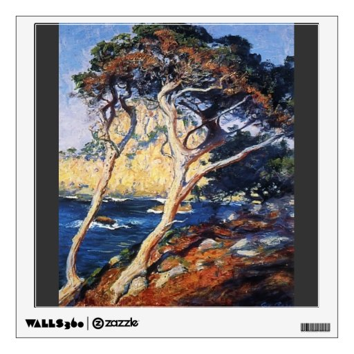 Guy Rose- Point Lobos Trees Wall Decals