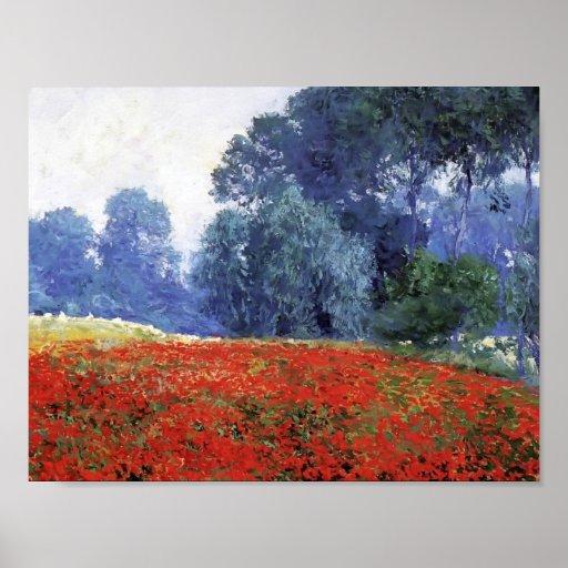 Guy Rose- Poppy Field Print