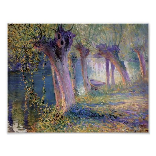Guy Rose- River Epte, Giverny Poster