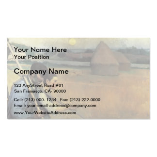 Guy Rose- The End of the Day Business Card Template